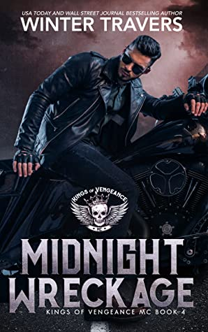 Release Day Blitz & Giveaway: Midnight Wreckage (Kings of Vengeance MC #4) by Winter Travers