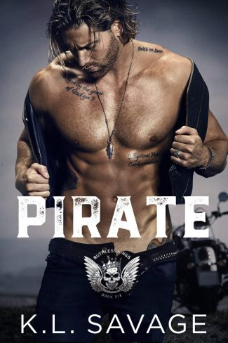 Cover Reveal: Pirate (Ruthless Kings MC #6) by KL Savage
