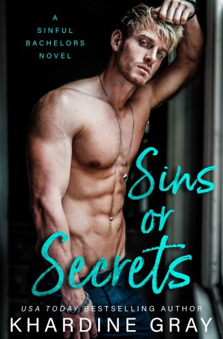 Cover Reveal: Sins or Secrets (Sinful Bachelors #1) by Khardine Gray