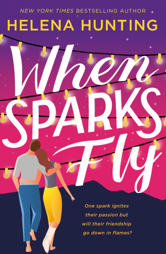 Cover Reveal: When Sparks Fly by Helena Hunting