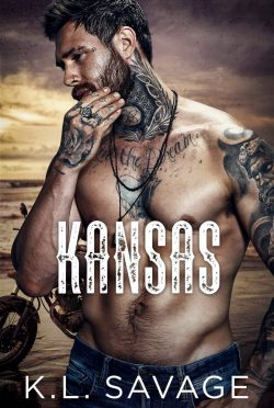 Cover Reveal: Kansas (Ruthless Kings MC: Atlantic City #2) by KL Savage