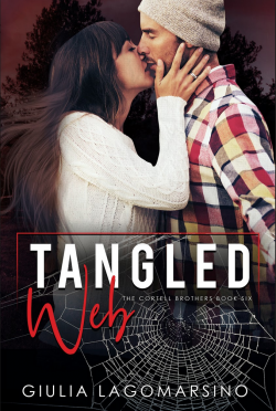 Cover Reveal: Tangled Web (The Cortell Brothers #6) by Giulia Lagomarsino