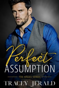 Cover Reveal: Perfect Assumption (Midas #2) by Tracey Jerald