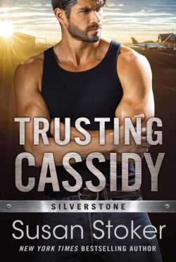 Cover Reveal: Trusting Cassidy (Silverstone #4) by Susan Stoker