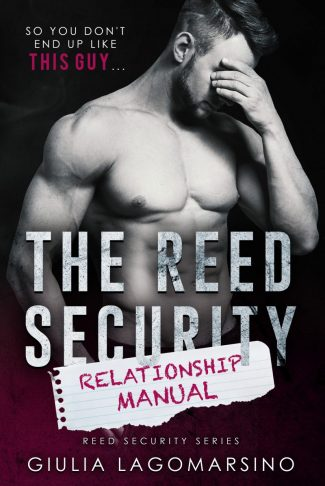 Cover Reveal: The Reed Security Relationship Manual by Giulia Lagomarsino
