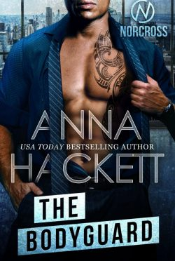 Cover Reveal: The Bodyguard (Norcross #4) by Anna Hackett