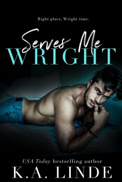 Cover Reveal: Serves Me Wright (Wright #8) by KA Linde