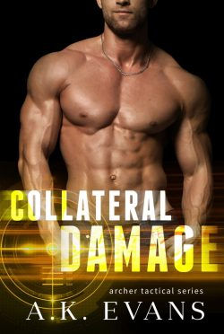 Release Day Blitz: Collateral Damage (Archer Tactical #2) by AK Evans
