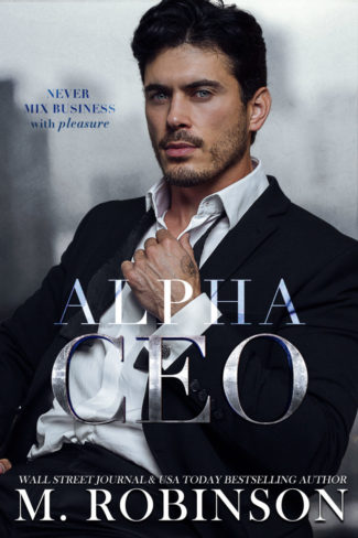 Cover Reveal: Alpha CEO by M Robinson