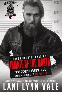 Cover Reveal: Inmate of the Month (Souls Chapel Revenants MC #6) by Lani Lynn Vale