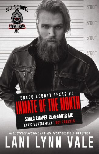 Cover Reveal: Inmate of the Month (Souls Chapel Revenants MC #7) by Lani Lynn Vale