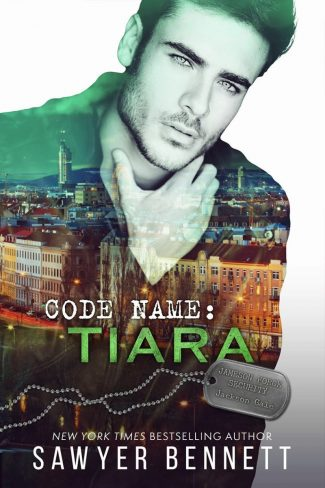 Cover Reveal: Code Name: Tiara (Jameson Force Security #7) by Sawyer Bennett