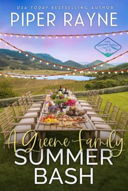 Release Day Blitz: A Greene Family Summer Bash (The Greene Family #3.5) by Piper Rayne