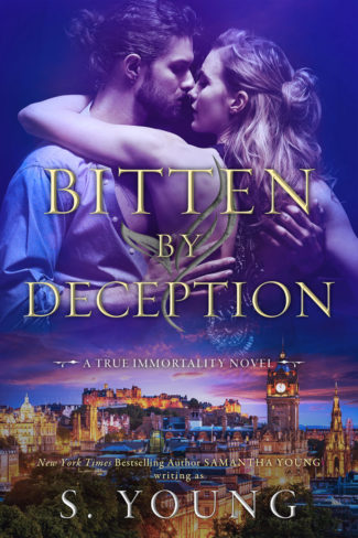 Cover Reveal: Bitten by Deception (True Immortality #4) by S Young