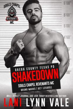 Cover Reveal: Shakedown (Souls Chapel Revenants MC #8) by Lani Lynn Vale
