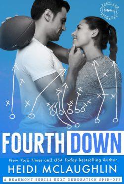 Release Day Blitz: Fourth Down (Portland Pioneers #1) by Heidi McLaughlin
