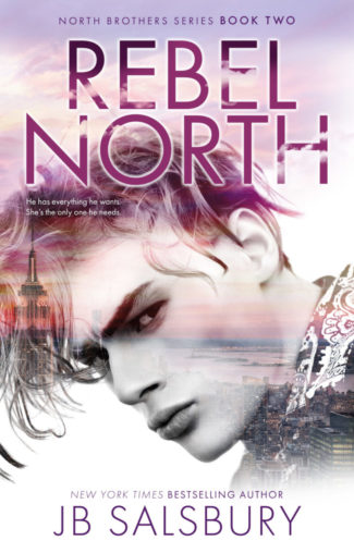 Cover Reveal: Rebel North (The North Brothers #2) by JB Salsbury