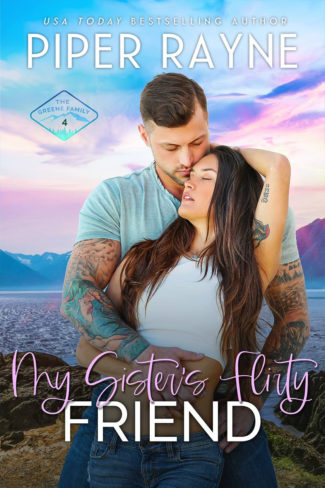 Cover Reveal: My Sister's Flirty Friend (The Greene Family #4) by Piper Rayne