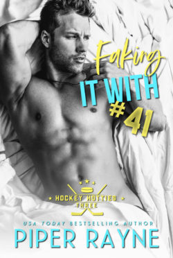Release Day Blitz: Faking It With #41 (Hockey Hotties #3) by Piper Rayne