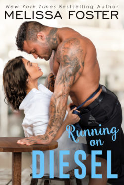 Release Day Blitz & Giveaway: Running on Diesel (The Whiskeys: Dark Knights at Peaceful Harbor #9) by Melissa Foster