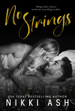 Cover Reveal: No Strings by Nikki Ash