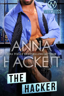 Cover Reveal: The Hacker (Norcross #5) by Anna Hackett