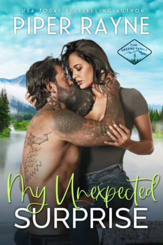 Cover Reveal: My Unexpected Surprise (The Greene Family #5) by Piper Rayne