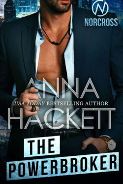Cover Reveal: The Powerbroker (Norcross Security #6) by Anna Hackett