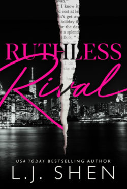 Cover Reveal: Ruthless Rival by LJ Shen