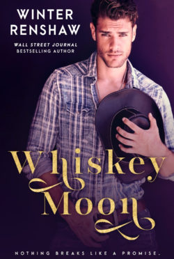 Cover Reveal: Whiskey Moon by Winter Renshaw