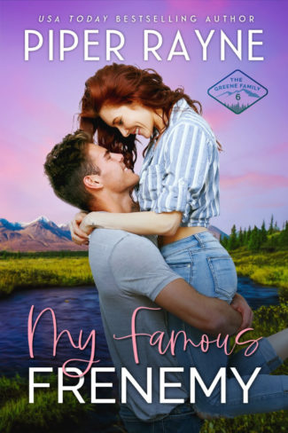 Cover Reveal: My Famous Frenemy (The Greene Family #6) by Piper Rayne
